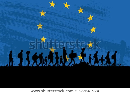 Refugee Crisis Stock photo © Lightsource