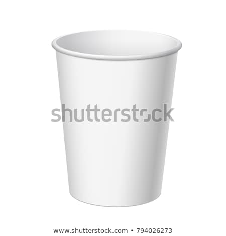 paper cup template for soda stock photo © netkov1