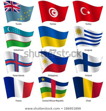 Turquia Filipinas bandeiras quebra-cabeça isolado branco Foto stock © Istanbul2009