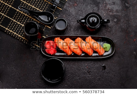 Japon mutfak pirinç deniz ürünleri büyük Stok fotoğraf © sveter