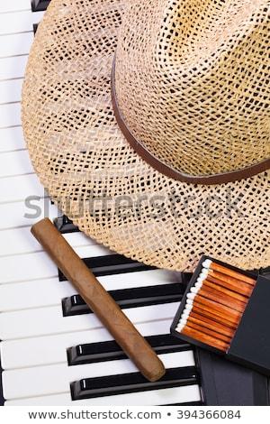 ピアノ 帽子 高級 シガー 詳細 ダンス ストックフォト © CaptureLight