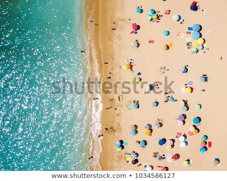 Praia pessoas topo ver zakynthos mar Foto stock © MilanMarkovic78