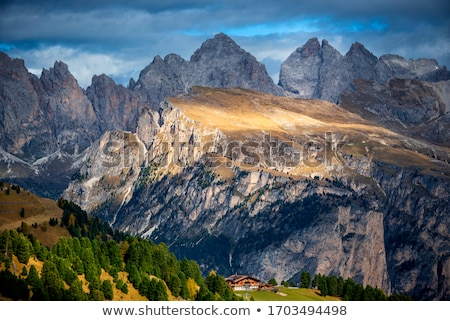 Sella group in Dolomites  Stock photo © LianeM