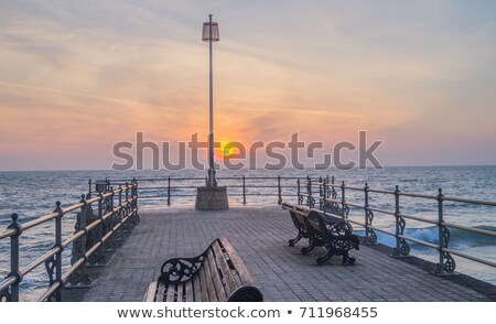 A victorian seaside pier at Swanage in Dorset Stock photo © CaptureLight