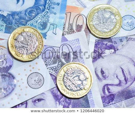 Libra negócio dinheiro projeto comprar moeda Foto stock © bedlovskaya