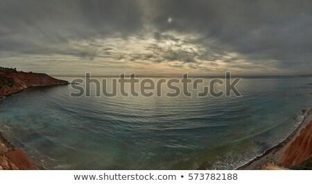 Foto stock: Cielo · mediterráneo · mar · popular