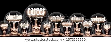 Carreira poder negócio empresário Foto stock © Lightsource
