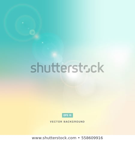 abstarct background or pastel sky and flare nature Stock photo © phochi