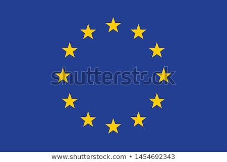 Banderą europejski Unii wektora eu podróży Zdjęcia stock © tkacchuk