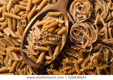 whole grain pasta Stock photo © Lana_M