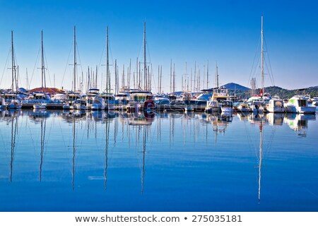 Pier and Sailboats Stock photo © zhekos