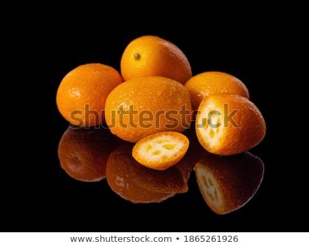 Pochi frutti isolato bianco alimentare arancione Foto d'archivio © digitalr