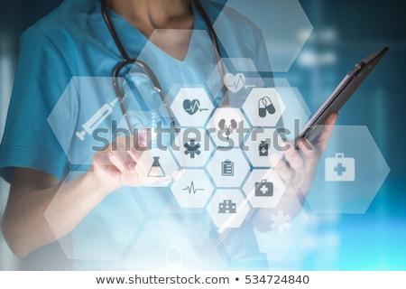 здравоохранения работник современных инновационный технологий медицина Сток-фото © stevanovicigor