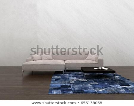 общий диван 3D оказанный иллюстрация дизайна Сток-фото © Spectral