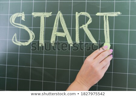 Educational poster design for words starting with S Stock photo © bluering