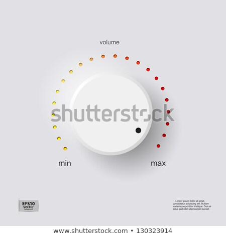 3D · 電源 · レベル · 3次元の図 · セット - ストックフォト © magraphics