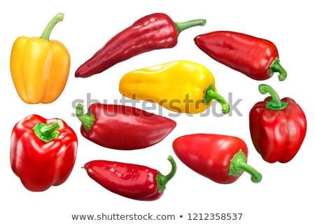 Yolo wonder sweet bell pepper, red Stock photo © maxsol7