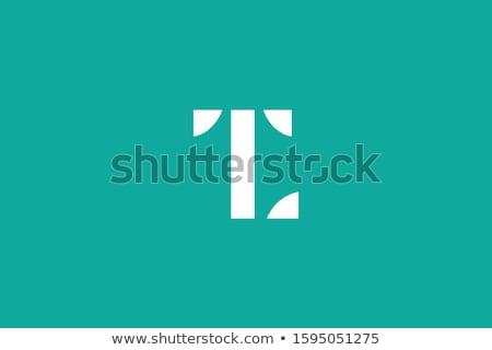 Levél logo logotípus vektor ikon absztrakt Stock fotó © blaskorizov