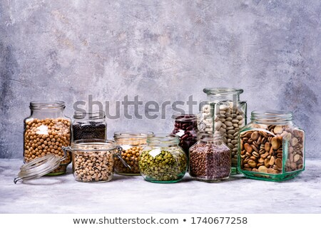 variety of dried legumes stock photo © barbaraneveu