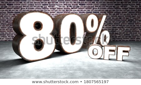 sale discounts business 80s eighties background graphic texture forms Stock photo © studiostoks