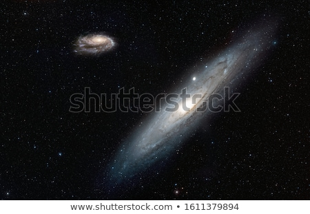 Galaxies image nuages fond espace Photo stock © NASA_images