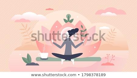 人間 · ヒーリング · 医療 · 健康 · 緑 - ストックフォト © rastudio