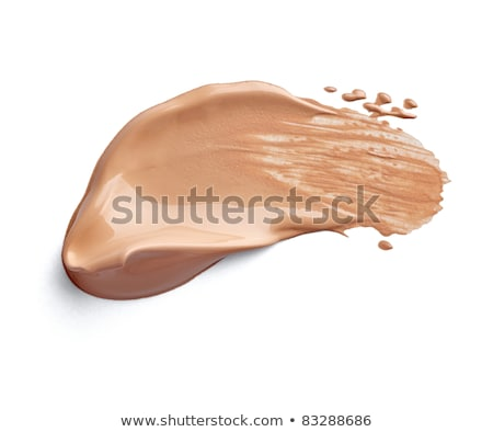 Crushed eyeshadow, powder and liquid foundation close-up isolate Stock photo © Anneleven