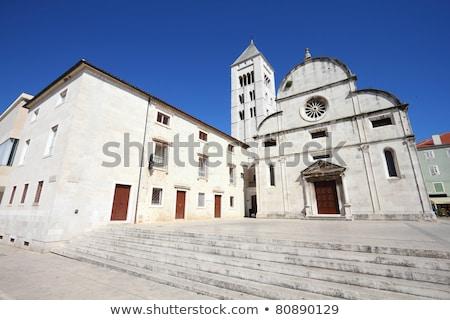 Templom Horvátország kolostor keleti oldal öreg Stock fotó © borisb17