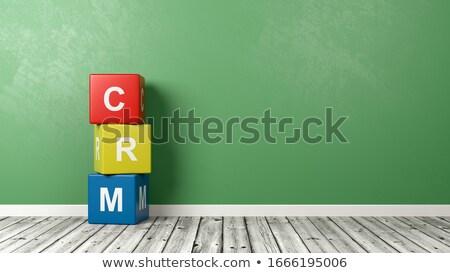 Crm стены красочный Сток-фото © make
