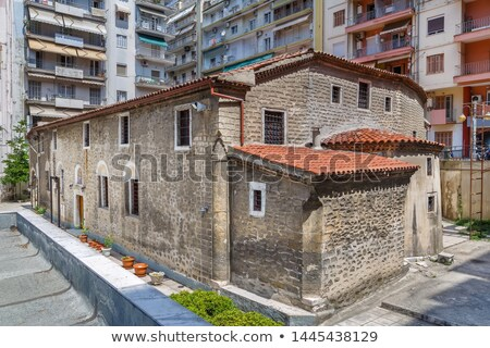 Igreja Grécia cidade centro Foto stock © borisb17
