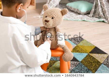 Child Pretending to be a Doctor  Stock photo © tobkatrina