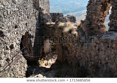 Coltesti fortress-detail Stock photo © RazvanPhotography