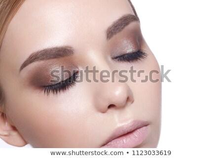глаза · тень · природного · косметики · составляют · блондинка - Сток-фото © darrinhenry