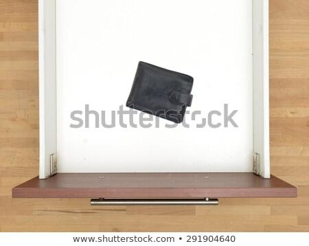 Close up shot of kitchen worktop and drawer Stock photo © vladacanon