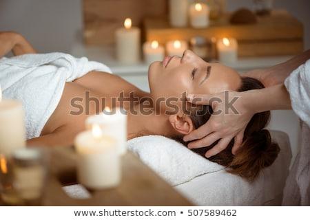 woman having face massage stock photo © photography33