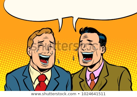 businessman laughing hysterically stock photo © photography33
