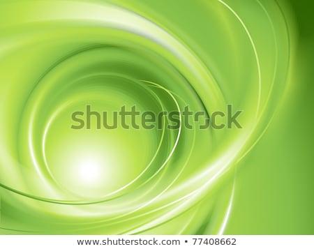 Absztrakt zöld nem háló terv művészet Stock fotó © hugolacasse