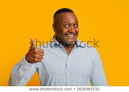 Happy Retiree Thumbsup Stock photo © lisafx