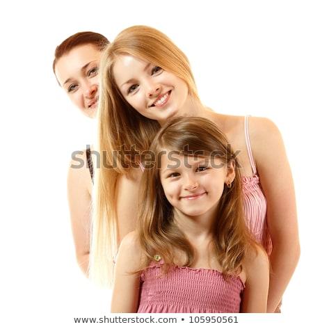 家族 · 3 ·  · 世代 · 女の子 · 十代の少女 · 女性 - ストックフォト © goce