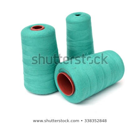 bobbin with green thread  Stock photo © compuinfoto