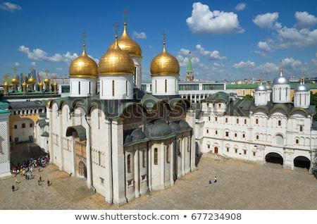 собора Москва Кремль крест Церкви Сток-фото © AndreyKr