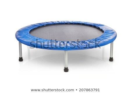 trampoline isolated Stock photo © ozaiachin