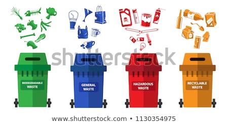 Geral desperdiçar industrial plástico Foto stock © speedfighter