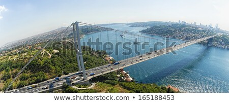 Istanbul - the view on the strait Bosphorus from the palace Topkapi Stock photo © wjarek