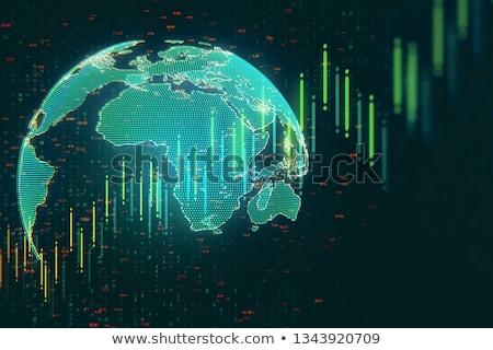 global · investimentos · internacional · financiar · negócio · símbolo - foto stock © lightsource