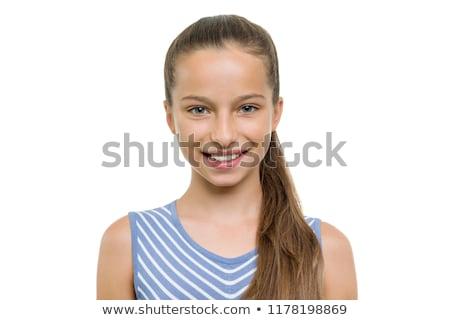 model · portre · güzel · kadın · göz · yüz · kadın - stok fotoğraf © ruslanomega
