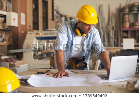woodworker thinking Stock photo © photography33