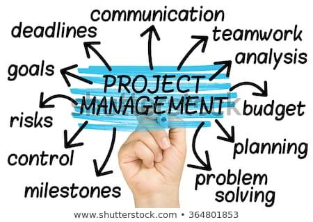 Leadership. Wordcloud Concept. Stock photo © tashatuvango