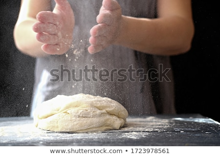 женщину · кухне · рук - Сток-фото © fantasticrabbit