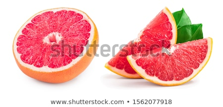 Rood · grapefruit · keukentafel · kleur · huid - stockfoto © tetkoren